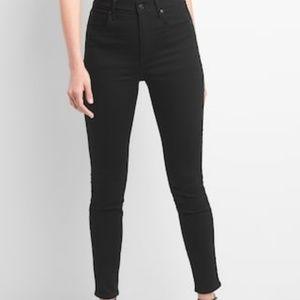 GAP Skinny Black Jeans 33x30
